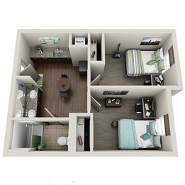 2 bedroom suite room type
